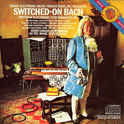 Carlos, Wendy - Switched on Bach - Carlos, Wendy CD Q9VG The Cheap Fast Free The