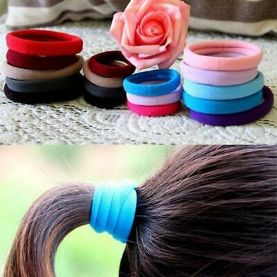 Cute Beauty Accessories Elastic Hairband Candy Color Ponytail Holder Hair Rope