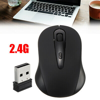 2.4GHz Wireless Cordless Mouse Mice Optical Scroll +USB For PC Laptop Computer