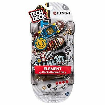 TECH DECK - 4 PACK OF 96mm FINGERBOARDS NEW