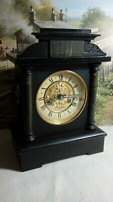 Badische Striking  Mantle clock in excellent restored serviced working condition