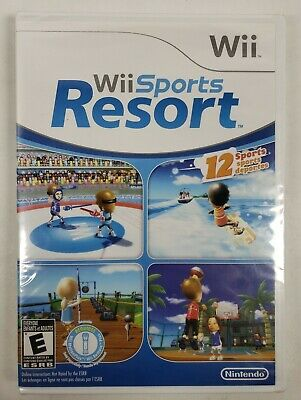 Wii Sports Resort (Nintendo Wii, 2009) New, Sealed