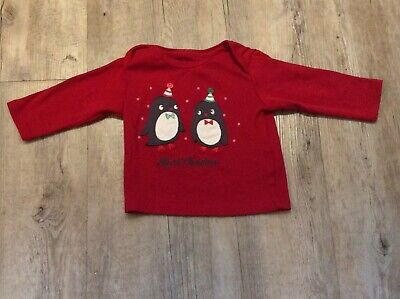 Marks And Spencer Girls 1st Christmas Top 0-3 Months