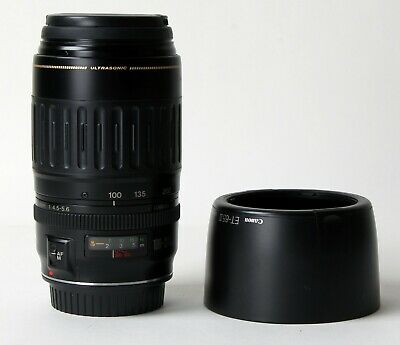 Canon EF 100-300mm f/4.5-5.6 USM Telephoto Zoom Lens with Hood