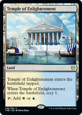 2x Temple of Enlightenment 246/254 Near Mint MTG Theros: Beyond Death