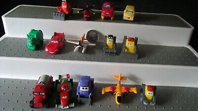 Disney Pixar Cars X 14 Micro Mini Blind Bag ? Cake Toppers Vehicles Tractor