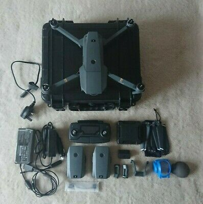 DJI Mavic Pro 4K Drone + Fly More Combo - Excellent Condition
