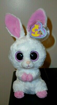 2018 NEW MWMT Ty Beanie Boos ~ LOLLIPOP the Tie Dyed Easter Bunny 6 Inch