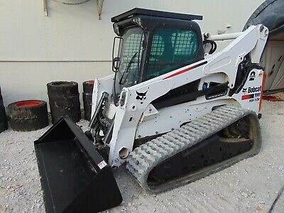 2016 Bobcat T-870 Turbo 2 Speed W/ Forestry Pkg - High Flow -  A/C - Stereo -