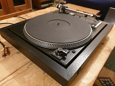 Dual cs505-2 Deluxe Turntable Record player original packaging and instructions