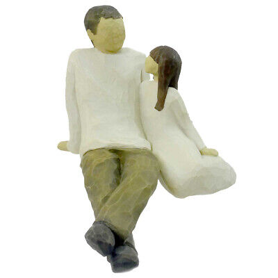 Willow Tree FATHER AND DAUGHTER Polyresin Family Bond Love 26031