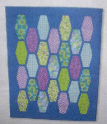 Tumbler Blocks Quilt Fabric Kit - Using Marcus Catalina Collection