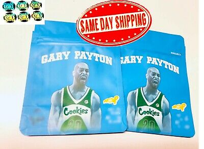 50ct - Gary Payton *Free hologram stickers and labels* for cookies empty bags
