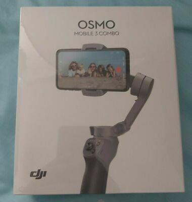 DJI Osmo Mobile 3 Combo Smartphone Gimbal With Tripod And Case New Sealed!