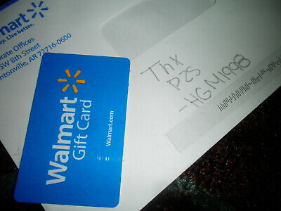 Walmart Gift Card 250.00 Value **Free Shipping**