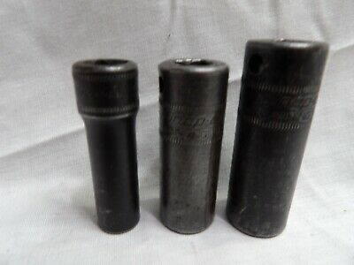 """Snap-on 3/8"""" Drive Impact Seepn Well Sockets 9mm, 13mm & 15mm"""
