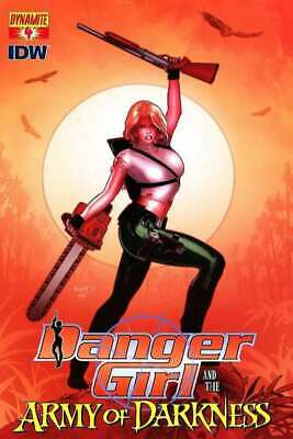 Danger Girl and the Army of Darkness #4 in NM condition. Dynamite comics [*1b]