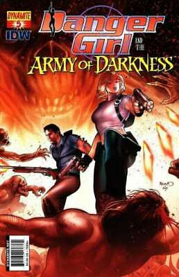 Danger Girl and the Army of Darkness #5 in NM condition. Dynamite comics [*hg]