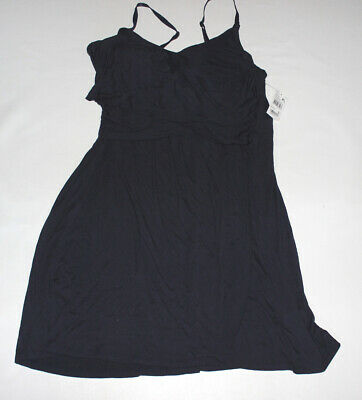 NWT Women's BUMP IN THE NIGHT Navy Maternity Nursing Gown Size XL