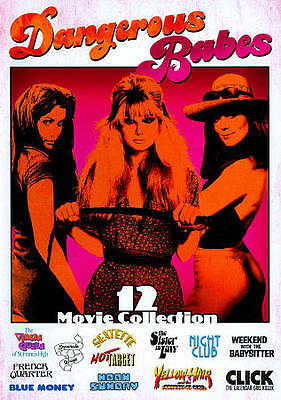 Dangerous Babes (12 Movie Collection) New