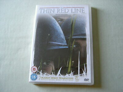 THE THIN RED LINE new sealed UK DVD Terrence Malick George Clooney Nick Nolte