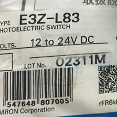 1pcs NEW IN BOX Omron Photoelectric switchE3Z-L83  One year warranty
