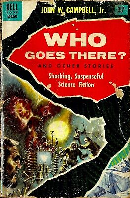 WHO GOES THERE? & Other Stories | John W Campbell Jr | 1955 PB | THE THING
