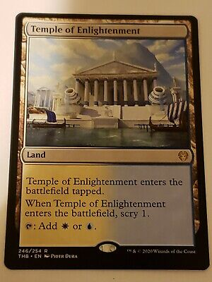 Temple of enlightenment Theros beyond Death Mtg Card Mint Condition Rare