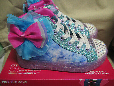 Skechers girls twinkle toes shoes. size11.