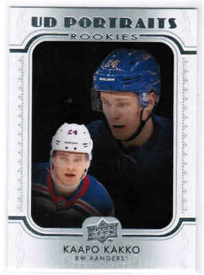 19/20 2019 UD SERIES 2 HOCKEY ROOKIE PORTRAITS CARDS P-51 P-100 U-Pick From List