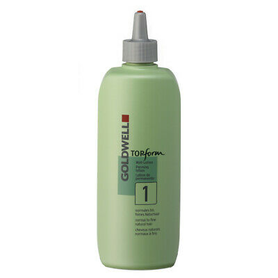 (44,98€/L) Goldwell topform perming lotion 1 Well-Lotion 500 ml