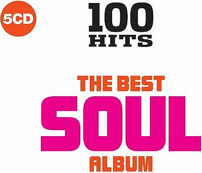 100 Hits The Best Soul Album 5-CD NEW SEALED O'Jays/Tymes/Tramps/LaBelle/Pearls+