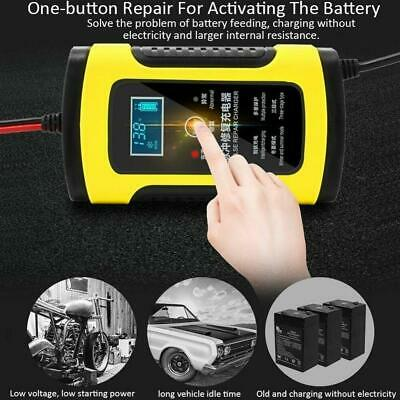 12V 5A Auto Car Jump Starter Smart Charger Battery LCD Smart  Pulses Repair Type