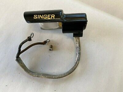 Vintage Singer Featherweight Sewing Machine Part - Light Assembly