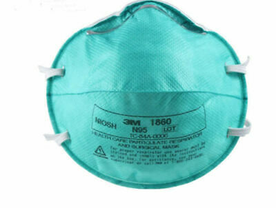 3M 1860 8210 N95 REGULAR Health Care Particulate  Mask lot of 20 FILTERS SARS