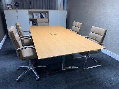 Veneer Top Meeting Table