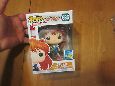 Funko Pop Neon Genisis Evangelion Asuka # 635 Sdcc 2019 As Photos