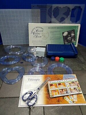 Creative Memories Cutting System Shapes Blades Mat Trimmer Titletopia & MORE!