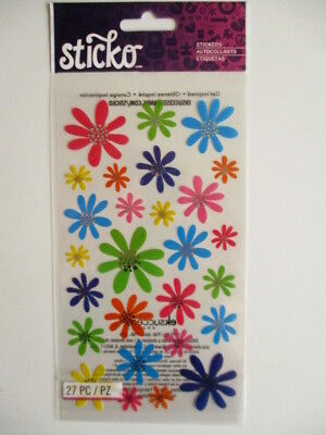 Sticko Stickers - Doodle Daisies