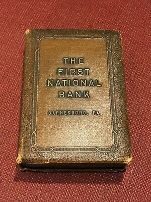 """Vintage Metal """"Book"""" Bank from 1930s?"""