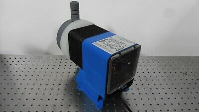 G165896 Pulsafeeder Pulsatron LPH8MA-WTCB-XXX Electronic Metering Pump