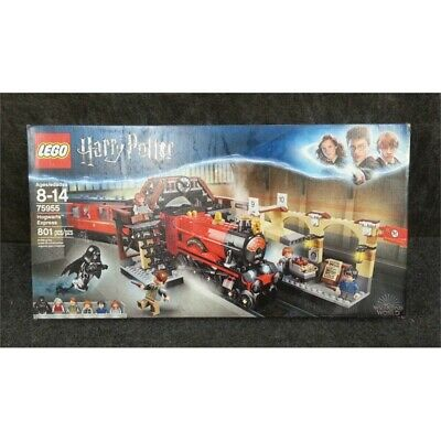Lego 75955 Harry Potter Hogwarts Express Set, 801-Pieces for Ages 8-14, Worn Box