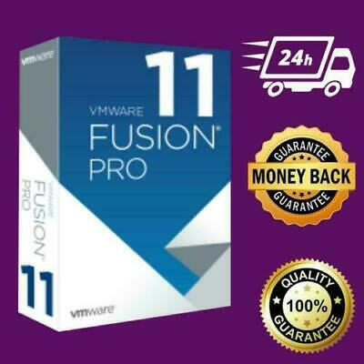 Vmware Fusion 11 Pro Mac.....lifetime Keygenuine 2019..... Fast Digital Delivery