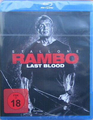 Rambo - Last Blood - Silvester Stallone, Blu-ray, OVP, in Folie