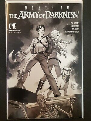 Death to Army of Darkness #1 1:10 Andolfo FOC Variant Dynamite NM Comics Book