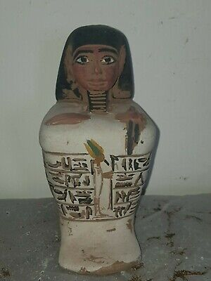 Rare Antique Ancient Egyptian Statue Leader Army Horemheb God Osiris1319-1292BC