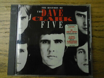 DAVE CLARK FIVE - History of the Dave Clark Five -CD, Aug-1993 - 2 Discs