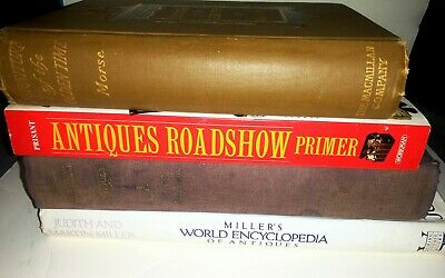 Books on ANTIQUES & COLLECTIBLES! Time, Style, Rarity,ect. Furniture,Toys, MORE!