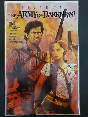 Death to Army of Darkness #1 B Variant Dynamite NM Comics Book