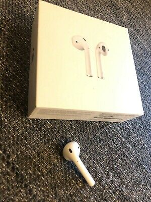 Apple AirPods Right (R) ONLY Wireless In-Ear Bluetooth Comes with Box 2nd Gen